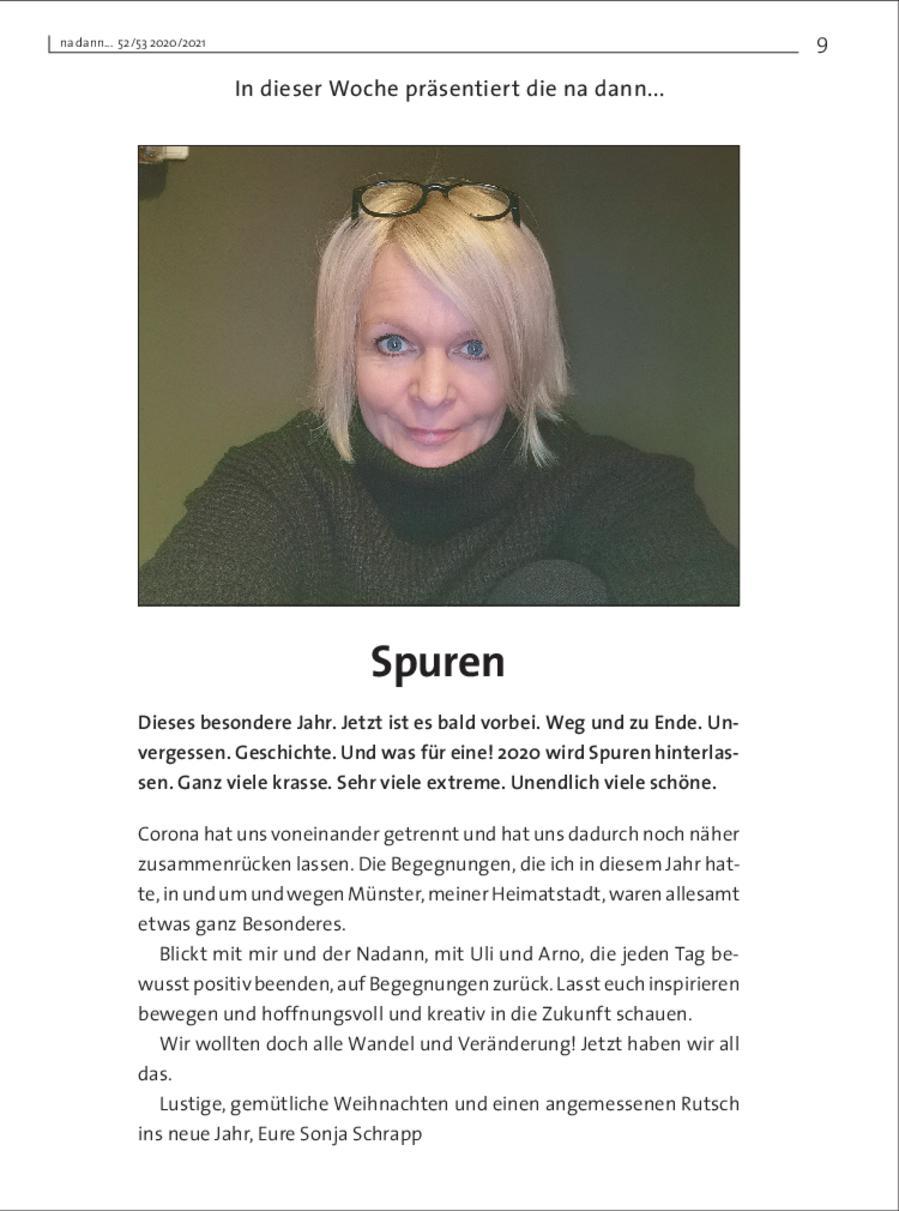 Galerie KW 52 - Sonja Schrapp: Spuren