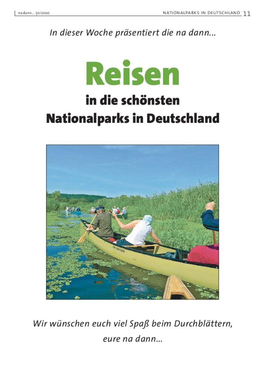 Galerie KW 50 – Reisen in die schönsten Nationalparkks in Deutschland